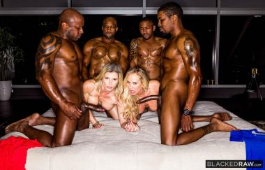 Cory Chase, Brandi Love – BBC Club (BlackedRaw)