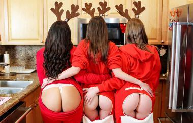 Adriana Maya, Aria Kai, Dani Damzel – Der Weihnachtsmann wurde erwischt (BFFs)